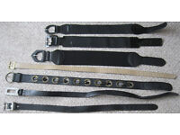 Ladies belts, 75p - £2.50