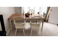 John Lewis Family size table and chairs