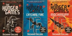 All 3 books in The Hunger Games series by Suzanne Collins