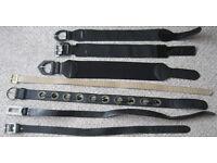 Ladies belts - 75p - £1.50
