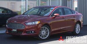 2014 Ford Fusion SE! AWD! HEATED LEATHER! SUNROOF!