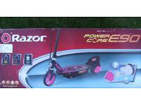 ELECTRIC SCOOTER - RAZOR POWER CORE E90
