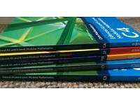Edexcel alevel maths textbooks M1 S1 C1 C3 C4