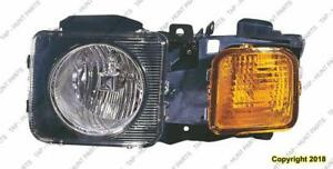 Head Light Driver Side High Quality Hummer H3 2006-2009