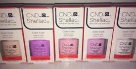 CND Shellacs brand new