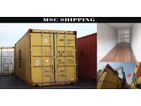 20' & 40' FOOT SHIPPING CONTAINERS FOR SALE OR RENT (DELIVERY)