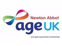 Volunteer Retail Assistant - Age UK Shop, Newton Abbot