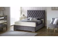 *FREE UK DELIVERY* Chelsea Upholstered Luxury Fabric Ottoman Storage Bed - QUICK DELIVERY!