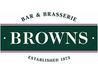 Browns Convent Garden - Bar Staff