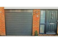 Electric, REMOTE CONTROLLED, Roller garage door --- NEW -- FITTED --- UK MADE