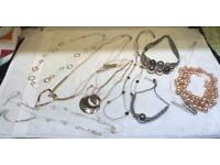 Various Ladies Necklaces x 10
