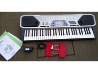 Casio CTK 481Keyboard with Adaptor & Bookstand