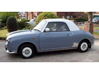 Classic, exceptional Convertible Nissan Figaro
