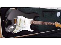 Fender Stratocaster 1974 USA staggered pole pickups