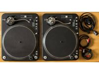 2x Direct Drive Record Player/ DJ Turntables for Sale [Citronic PD45]