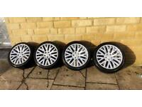 """Used, GENUINE PROJECT KAHN ALLOY WHEELS 18"""" for sale  Allerton, West Yorkshire"""