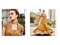New Look Wedding Pure Indian Style Dress & Choli