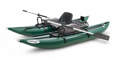 Outcast Sporting Gear Fish Cat Panther Inflatable Pontoon Boat Green Outcast Pontoon Boats