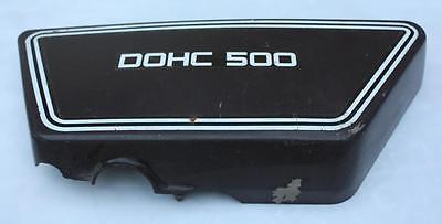 76 77 <em>YAMAHA</em> XS500 <em>XS 500</em> OEM RIGHT SIDE BATTERY COVER CASE BOX PLASTI