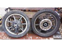 """Classic"" Kawasaki GT550/750 - Front & Rear Wheels"