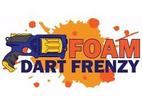 NERF WAR BIRTHDAY PARTIES & MOBILE DISCO - HUDDERSFIELD - FULLY MOBILE