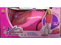 KIDS PRETEND PLAY TOY VACUUM CLEANER/HOOVER ROLE PLAY