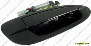 Door Handle Outer Rear  Passenger Side Black Ptm Nissan ALTIMA 2002-2006