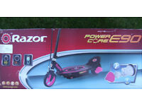 RAZOR POWER CORE E90 SCOOTER - PINK