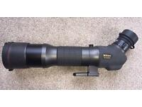 Nikon EDG 85-A (angled) Feildscope / Spotting Scope , with the FEP -20-60 zoom eyepiece, Boxed