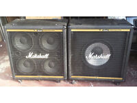 Marshall 4x10 & 1x15 Dynamic Bass System