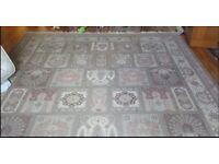 Large Keshan wool rug