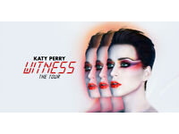 Katy Perry Standing Tickets Glasgow SSE Hydro Less Than Face Value