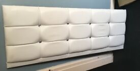 Brand new double diamanté headboard.