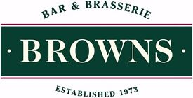 Waiting Staff - Browns West India Quay
