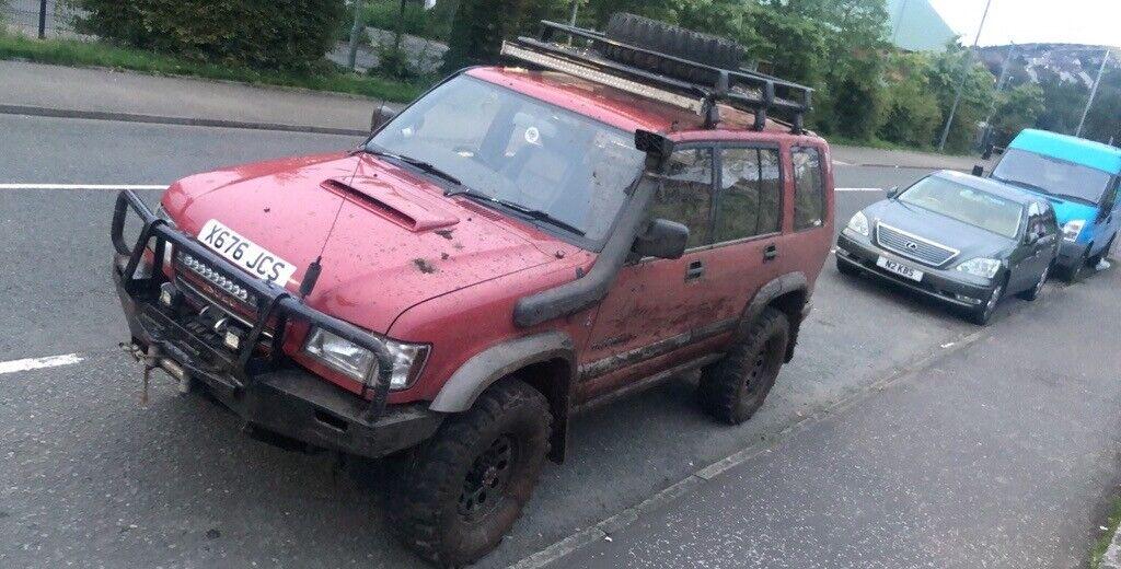 Isuzu trooper 3 0td OFF ROAD/ROAD legal, jeep, 4x4, swap | in Glasgow City  Centre, Glasgow | Gumtree