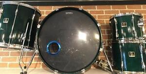 Batterie / Drums Yamaha Stage Custom Shell Kit 12-13-16-22 usagée/used
