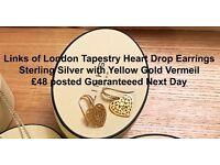 Links of London Tapestry Heart Earrings