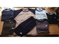 Nike shorts & tshirt sets