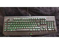 Blackwidow Ultimate 2014. Mechanical Keys. Working LEDs