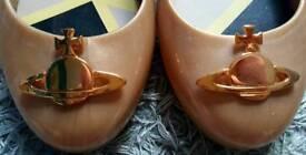 Gold Vivienne Westwood Shoes