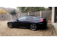 Bmw 640d in Black. Great condition. FULL BMW SERVICE HISTORY automatic diesel