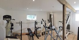 Gym Equipment (five machines)