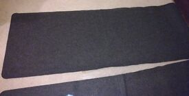 Entrance Runners x 2 - Grey - Good condition