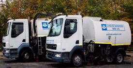 LONDON RUBBISH REMOVAL / WASTE CLEARANCE / PLANT HIRE / GRAB LORRY / ROAD SWEEPER