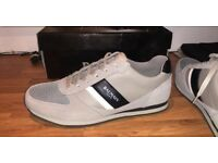 BALMAIN size 8 mens trainers