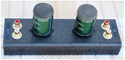 PEERLESS 4722 Western Sound Inc. Step Up Transformer MC Phono Cartridge JAPAN