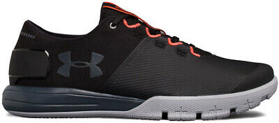 Under Armour Men's Ultimate 2.0 Lace-Up Athletic Shoes Black/Red