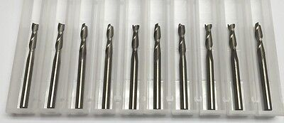18 Dia X 12 Cut 2 Flute Square End Carbide End Mill Made In Usa 10-pack