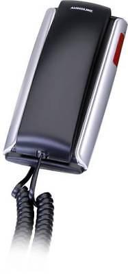 Tel Schnur ( Audioline TEL 105 Schnurgebundenes Telefon, analog Optische Anrufsignalisierung)