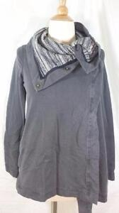 Lululemon Gray Savasana Wrap Jacket sz 2 Static Coal lining